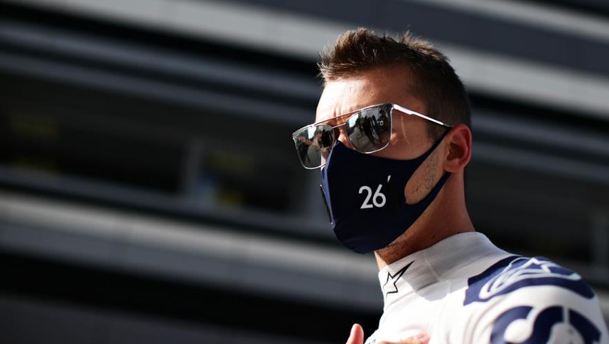 Russian GP free practice 2020 with Daniil Kvyat by Scuderia AlphaTauri