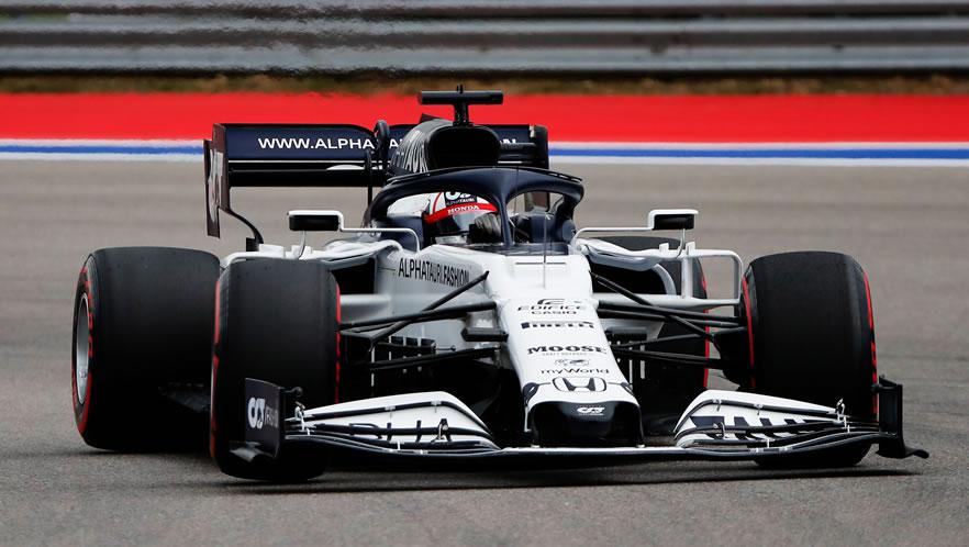 Russian Grand Prix qualifying 2020 with Daniil Kvyat by Scuderia AlphaTauri