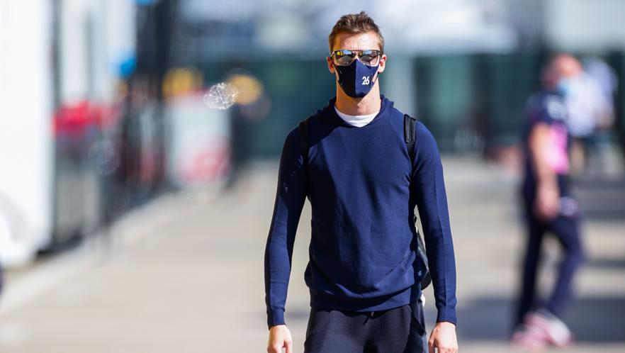 Russian Grand Prixview 2020 with Daniil Kvyat by Scuderia AlphaTauri
