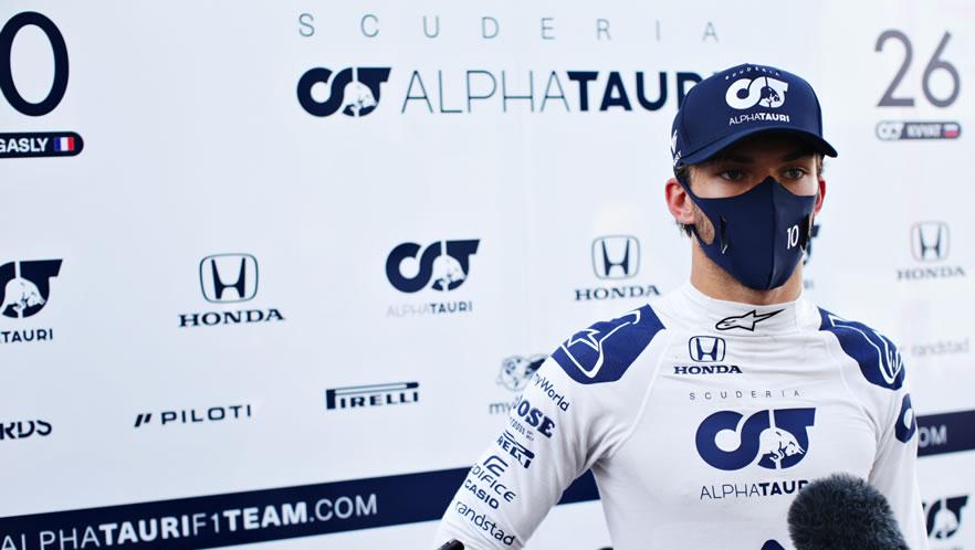 Tuscan Grand Prix 2020 with Pierre Galsy by Scuderia AlphaTauri