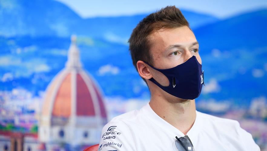 Tuscan GP free practice 2020 with Daniil Kvyat by Scuderia AlphaTauri