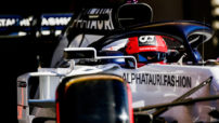 Kvyat at the Portuguese GP