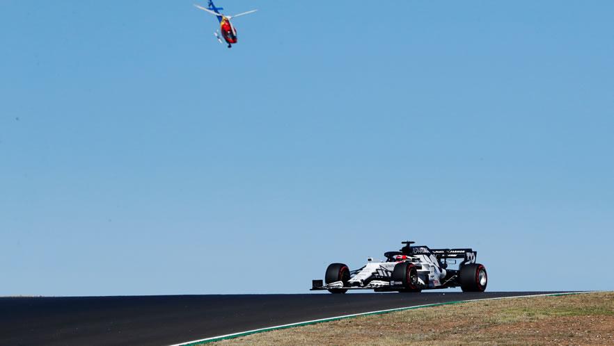 Portuguese Grand Prix qualifying 2020 with Daniil Kvyat by Scuderia AlphaTauri