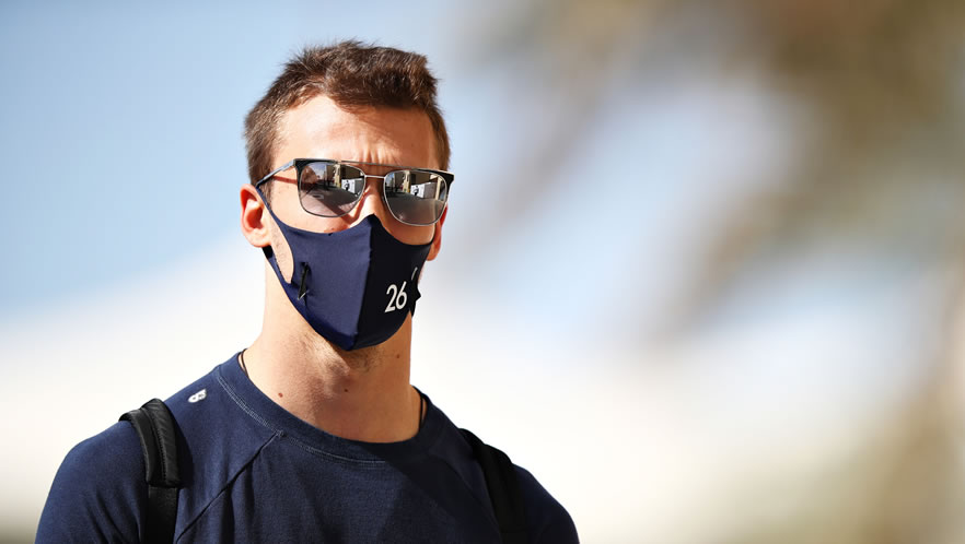Abu Dhabi Grand Prix qualfying 2020 with Daniil Kvyat by Scuderia AlphaTauri