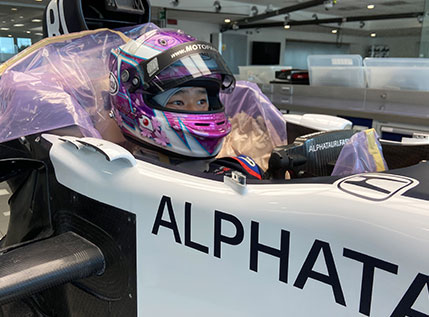 Young Driver Test 2020 – Marino Sato