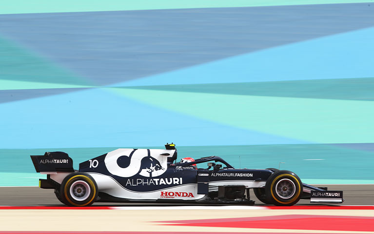 2021 Bahrain F1 Test – Day 1