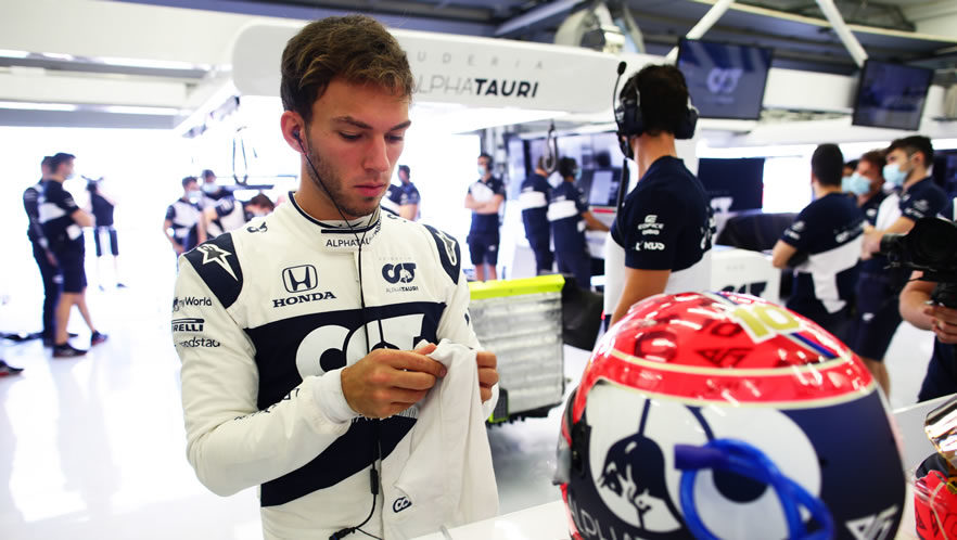 Test Bahrain 2021 Day 2 Formula 1 con Pierre Gasly Scuderia AlphaTauri
