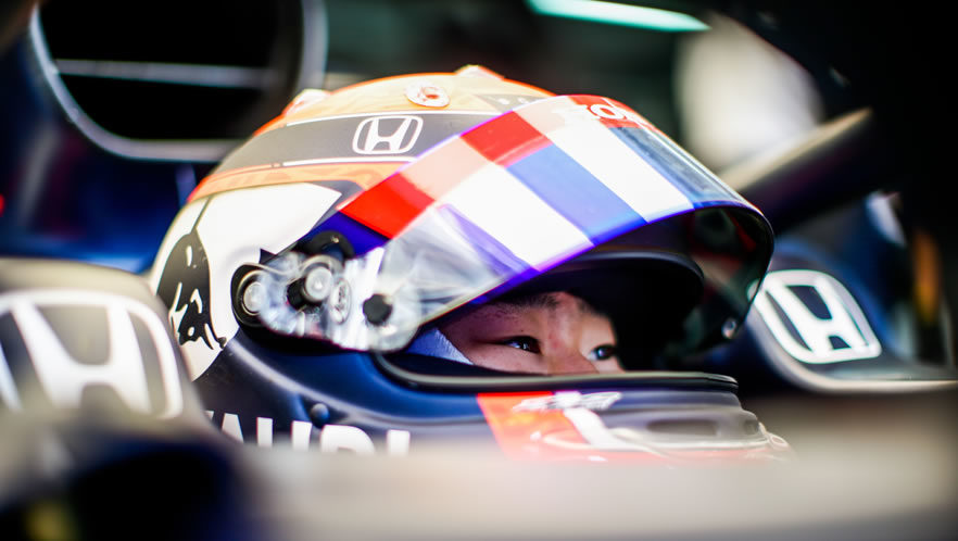 2021 Emilia Romagna GP qualifying with Yuki Tsunoda by Scuderia AlphaTauri
