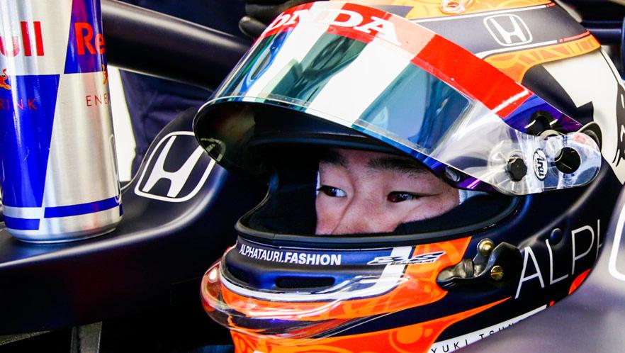 2021 Hungarian Grand Prix with Yuki Tsunoda by Scuderia AlphaTauri
