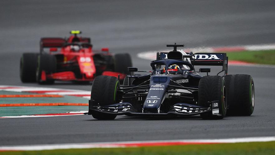2021 Turkish Grand Prix with Yuki Tsunoda by Scuderia AlphaTauri
